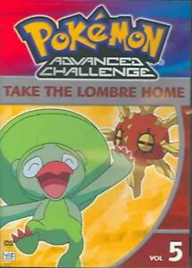POKEMON-ADVANCED-CHALLENGE-VOL-5-TAKE-THE-LOMBRE-HOME-USED-VERY-GOOD-DVD