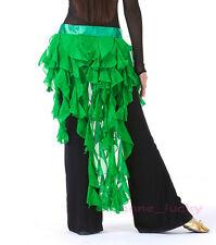 Free Shiping New Belly Dancing Hip Scarf Belt Waves Tassel Skirt/Belt 14 colors