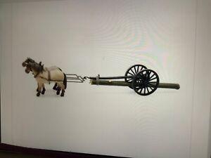Suitable-Marklin-spur-z-scale-gauge-Artitec-2-Horse-Drawn-Logging-Cart-amp-Log