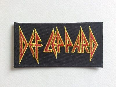 ECUSSON PATCHES AUFNAHER TOPPA DEF LEPPARD THERMOCOLLANT