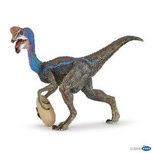 Papo 55059 Oviraptor Blue 4 11//16in Dinosaurs