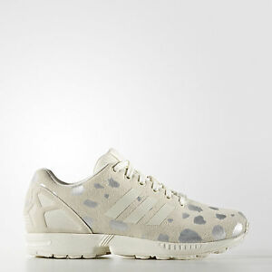 aa28c2595f9e Image is loading Adidias-Originals-ZX-Flux-Metallic-Silver-Stain-S76604-