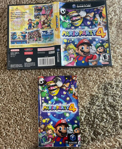 Mario Party 4 Nintendo GameCube No Disc Case And Manual Only!! Authentic