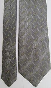 AUTHENTIQUE-cravate-cravatte-GUCCI-100-soie-TBEG-vintage
