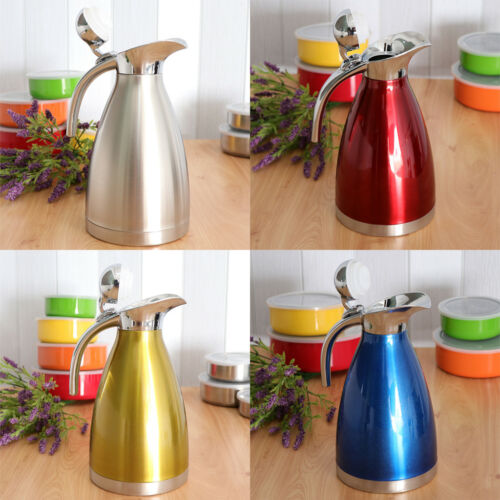 Baoblaze 1.5L Stainless Steel Thermal Coffee Pot Water Kettle Carafe Bottle