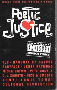 Poetic Justice Soundtrack OST Various 1993 Cassette Tape Album Hiphop Rap