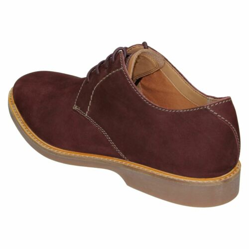 Mens Clarks /'Atticus Lace/' Leather Smart Lace Up Shoes G Fitting