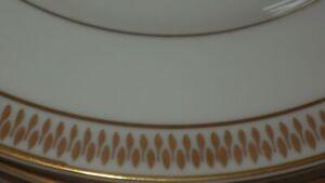 Vintage Fine China Dinnerware set Dalene EMDEKO s/8 hostess pcs White Gold 68pc