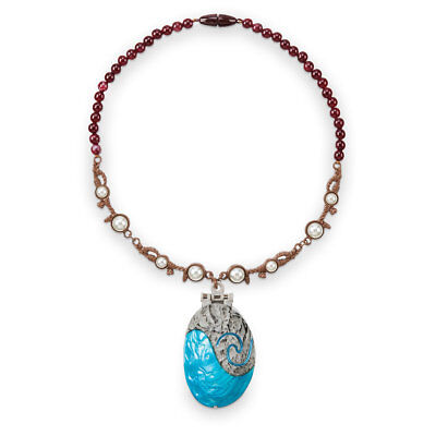 2017 Authentic Disney Store Princess MOANA SINGING SHELL Necklace w// Sound NWT