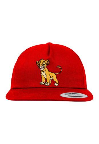 """TRVPPY Snapback Cap Modell /""""Simba/"""" Löwen König in vielen Farben"""