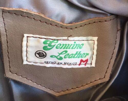 Nice Jacket Made Læder Mexico M Fringed Motorcykel Kvinde Southwest In Tan vZTwAxE
