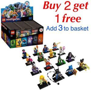 Lego DC Comics Minifig Series 71026 CHOOSE YOUR MINIFIGURE