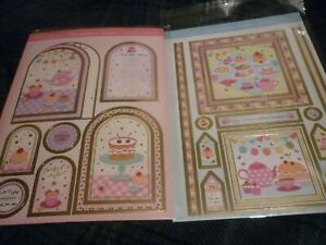 2 x A4 Card HUNKYDORY Special Moments Toppers I/'M SO SORRY Foiled Toppers