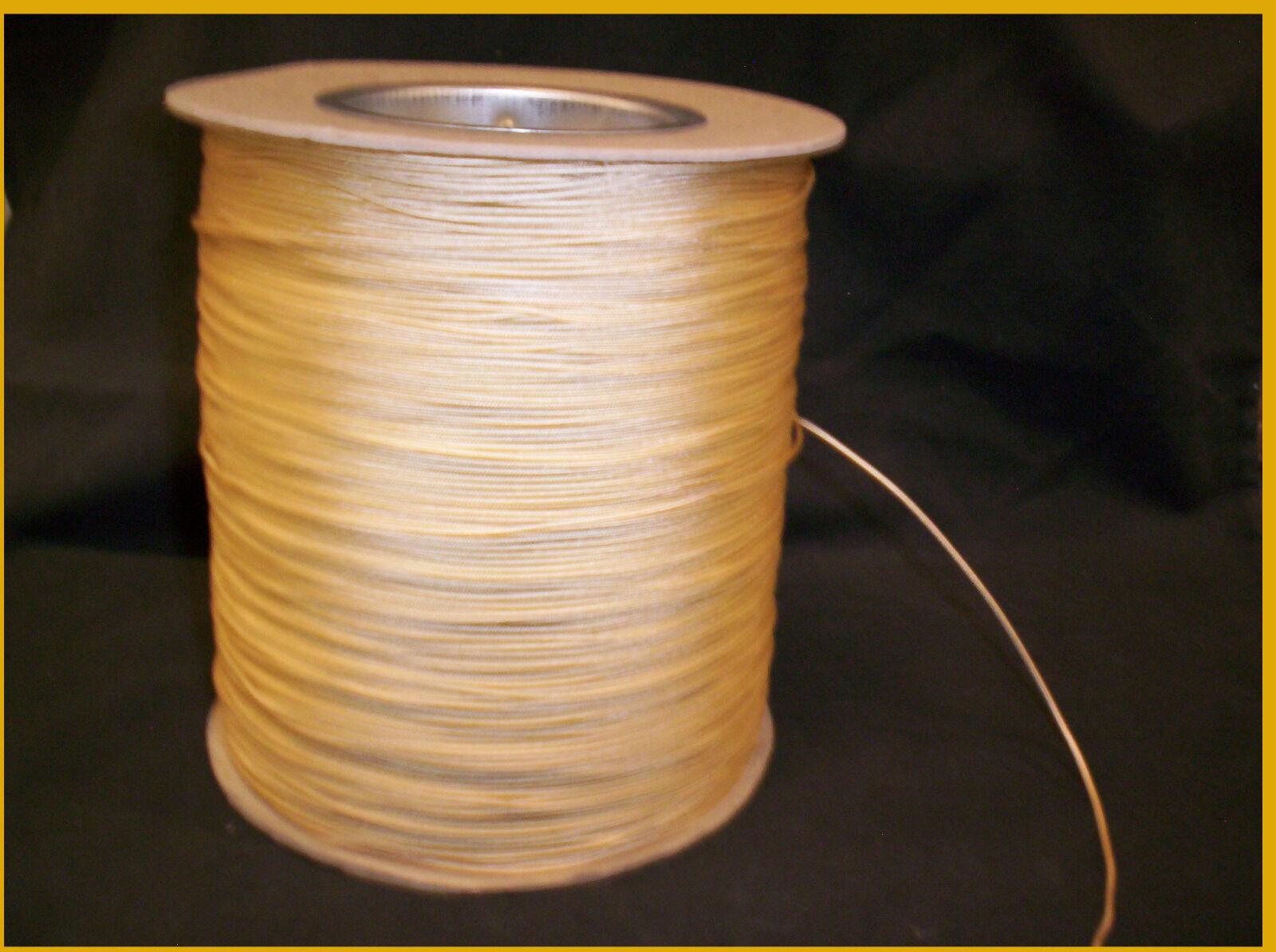 Cable de reemplazo de persianas tonos 1000yd Carrete 1.4mm elevador de inclinación Tire de poliéster Camel