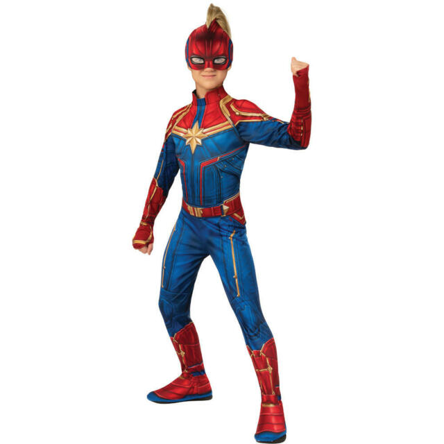 Halloween Avengers Captain Marvel Hero Suit Child Costume For Sale Online Ebay So there's no way to know how well captain. halloween avengers captain marvel hero suit child costume