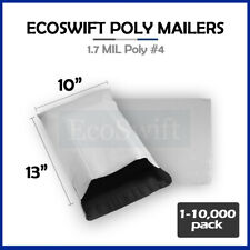 1 10000 10 X 13 Ecoswift Poly Mailers Envelopes Plastic Shipping Bags 170 Mil