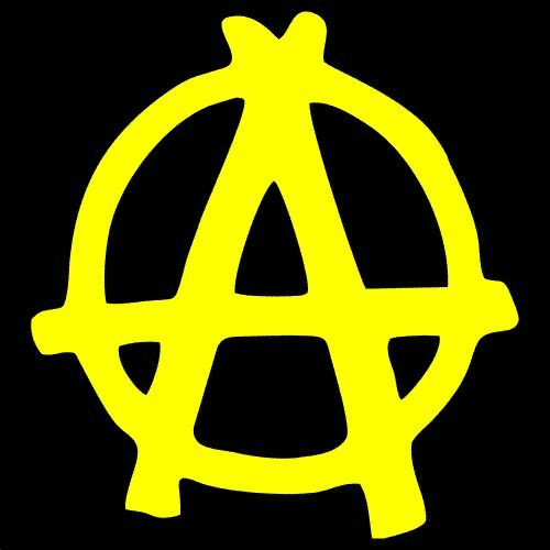 TWO Anarchy Vinyl Decal Pack Sticker 2