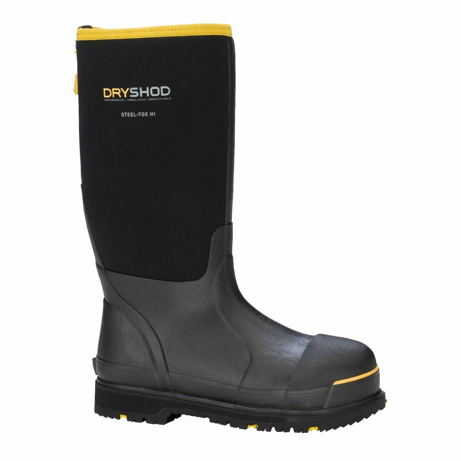 Dryshod Mens  Cold Weather Steel Toe Insulated Boots Size 11  STT-UH-BK