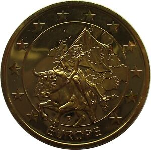 Médaille Chypre Monnaie Commémorative Doré Edition : 9.999
