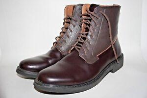41 élégant Eu Werth 7 élégant 1970 des années Hi Oxblood Shoes cuir style Peter en x86q4nTw6O