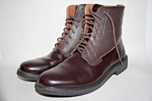 Eu élégant Werth Hi 41 en des cuir Oxblood Peter Shoes élégant 1970 années style 7 6dUqtU