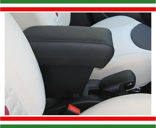 adjustable in length XXL large storage made in ITALY armrest FIAT 500 L