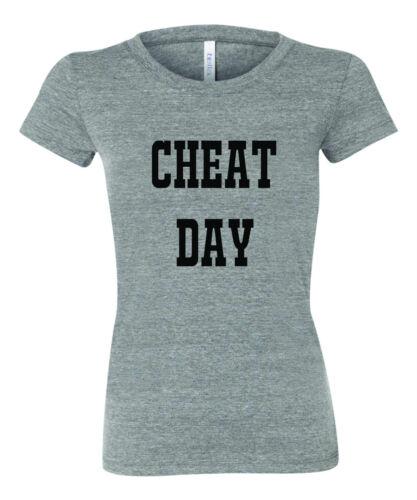 Nouveau Femme triche Day T Shirt