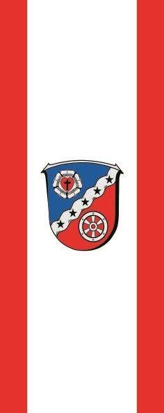 Fahne Flagge Rodgau im Hochformat verschiedene verschiedene verschiedene Größen 06dc15