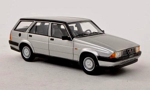 Meraviglioso modellololo ALFA ROMEO 75 2.0 SPORTSWAGON 1986 - argentoo - 1 43 - lim.ed.