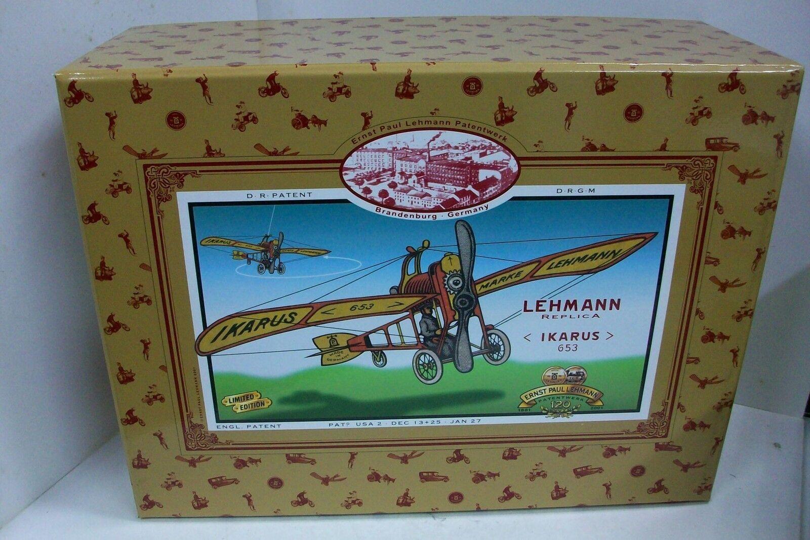 LehhomHommes  80653 replica model airplane, stbague mechanism ed. lim.  0045  réductions et plus