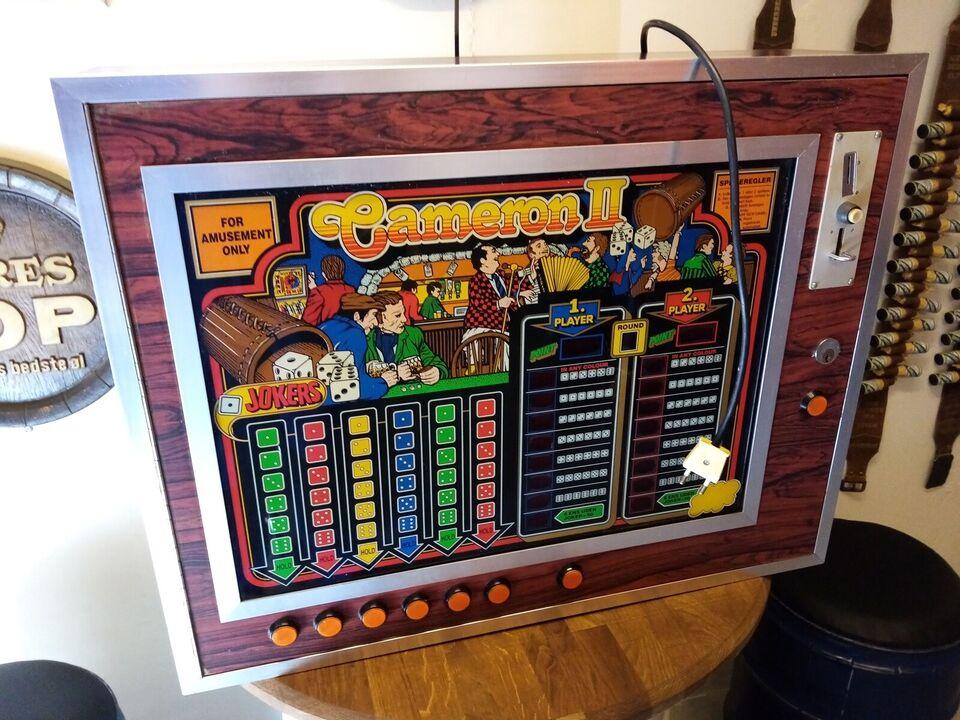 Cameron II, spilleautomat, Defekt