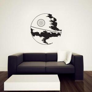 Star Wars MILLENIUM FALCON WALL STICKER Decal Art Mural Stencil Silhouette ST198