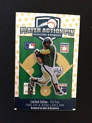 Humorvoll Oakland Athletics Reggie Jackson Trikot Revers Pin-collectible-r-e-g-g-i-e In Vielen Stilen Weitere Ballsportarten Sport