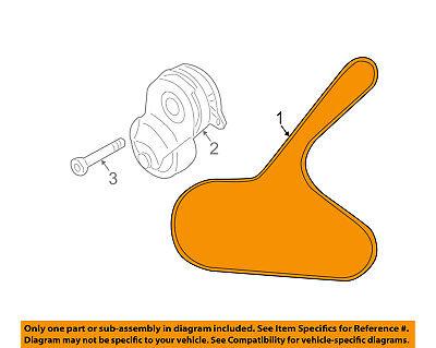 NISSAN OEM 11-15 Juke-Serpentine Drive Fan Belt 117201KC0A | eBayeBay