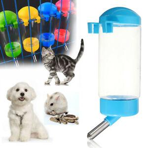 400ml Tragbar Haustier Getränke Spender Hund Katze Vogel Wasser Feeder Hängend