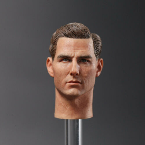 DJ /_ Custom Tom Cruise Film Star Head Sculpt Fit 1//6 Action Figure Peinte DJC001