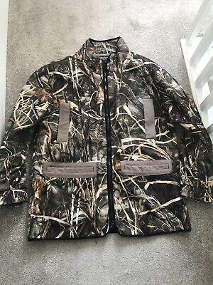 0aeae15de8217 Details about Deerhunter Max 4 Realtree Camo Jacket Coat Carp Fishing  Hunting Xxl Camo