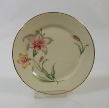 Rosenthal Selb Gebäckteller 15,5 cm Dekor Lilie Goldrand Porzellan