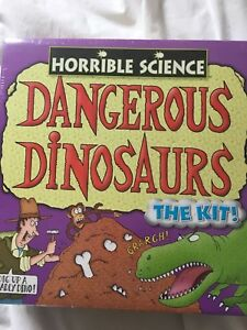 Bien Horrible Science Dangereux Dinosaures Flambant Neuf Scellé-afficher Le Titre D'origine Les Clients D'Abord