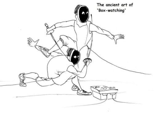 Hot suor e Cold Steel-O Livro De 101 Desenhos Animados De Esgrima