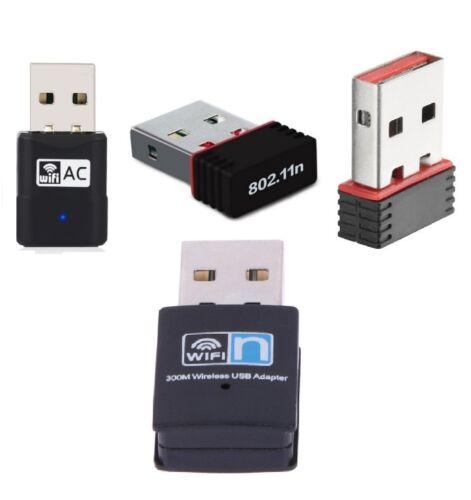 150//300//600Mbps Mini Wireless USB Wifi Adapter LAN-Antenne Netzwerk-Adapter NEW