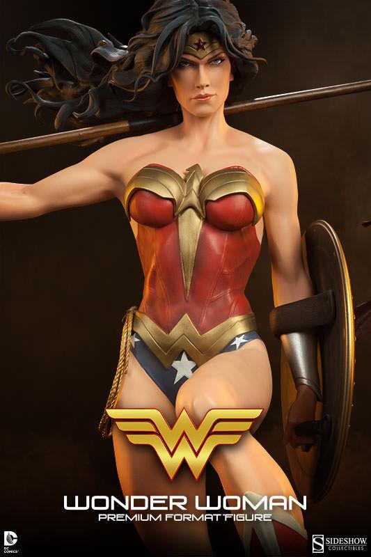 Sideshow Collectibles Exclusive Wonder Frau Premium Format Figure New