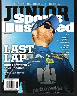 Sports Illustrated 2017 Dale Earnhardt Jr Retirement Tribute Commemorative Issue