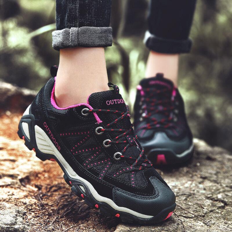 Women's Hiking shoes Skid-Proof Walking Sneaker for Running Trekking Training