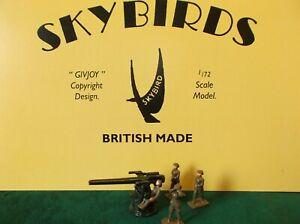 Anti Aircraft Gun and Crew. Skybirds Models