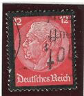 GERMANY; 1934 early Hindenburg memorial issue fine used 12pf. value