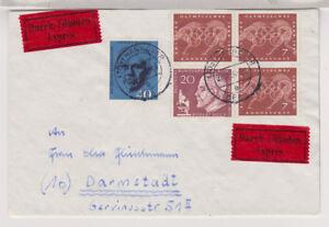 BUND-Mi-332-3-344-Berlin-Eil-Hannover-28-11-69-AKS-Darmstadt