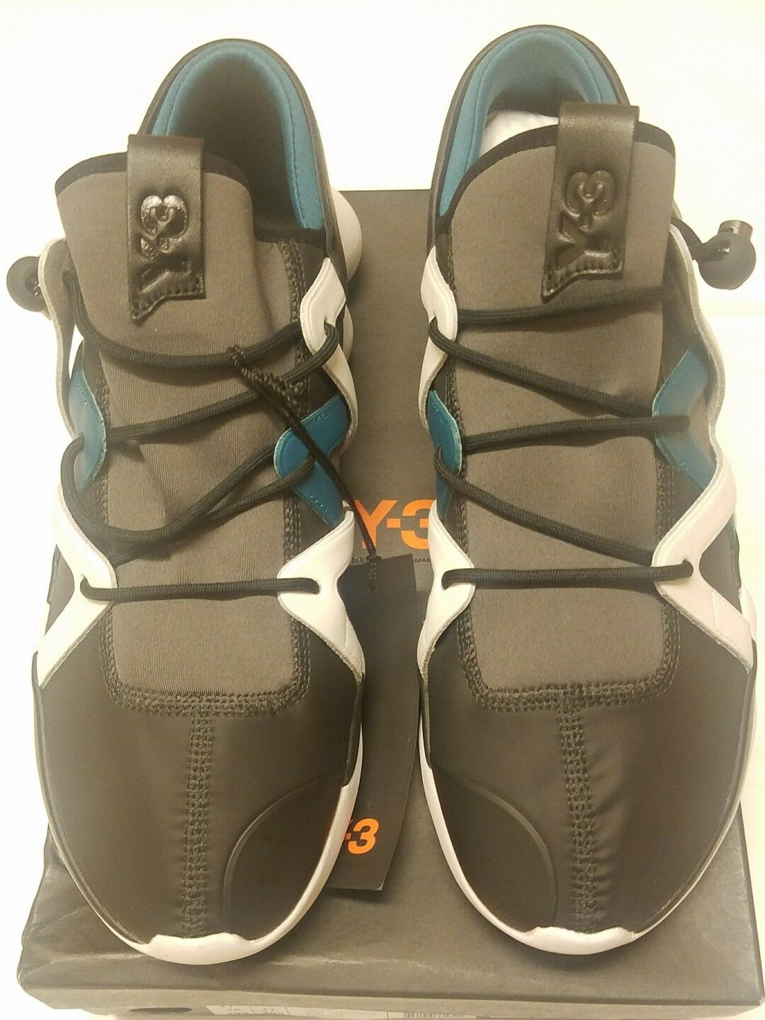 Adidas Adidas Adidas Y-3 Kyujo Low Top Sneakers, Multi-color (BB4737) Size 12.5 US 9e81f2