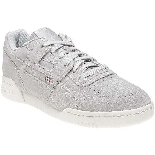 db28cb5157d2b5 Reebok Workout Plus Montana Cans Sneaker Grey 45 5 for sale online ...