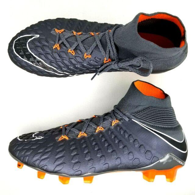 Nike Hypervenom Phantom III 3 DF Elite FG Soccer Cleats Mens Sz 6 Gray WMNS  7.5